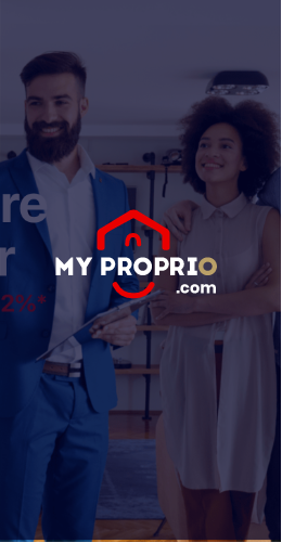 Aperçu site web MyProprio