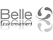 Logo Belle Environnement noir et blanc