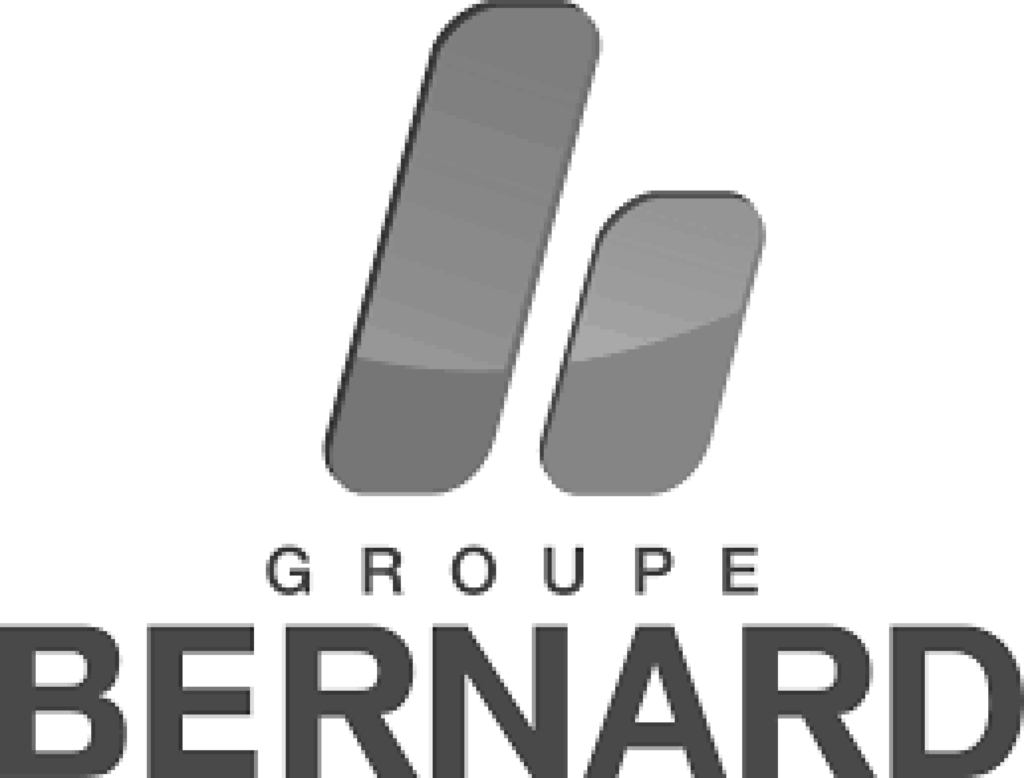 Logo Groupe Bernard noir et blanc