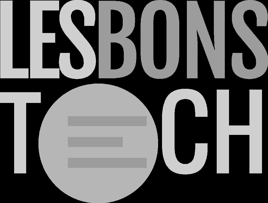 Logo LesBonsTech noir et blanc
