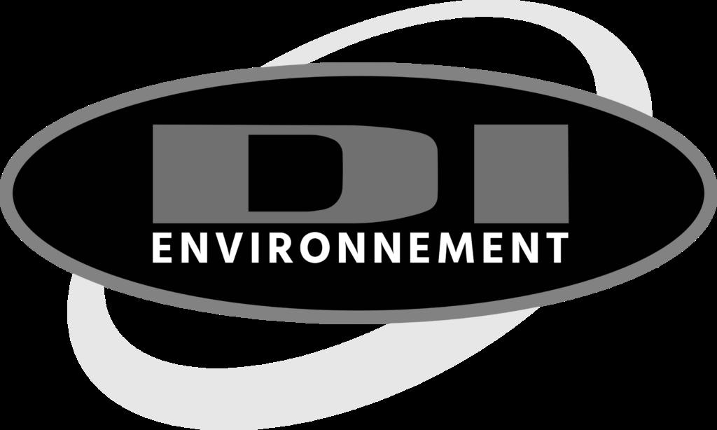 Logo DI Environnement noir et blanc